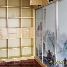 美式家庭书房装修效果图