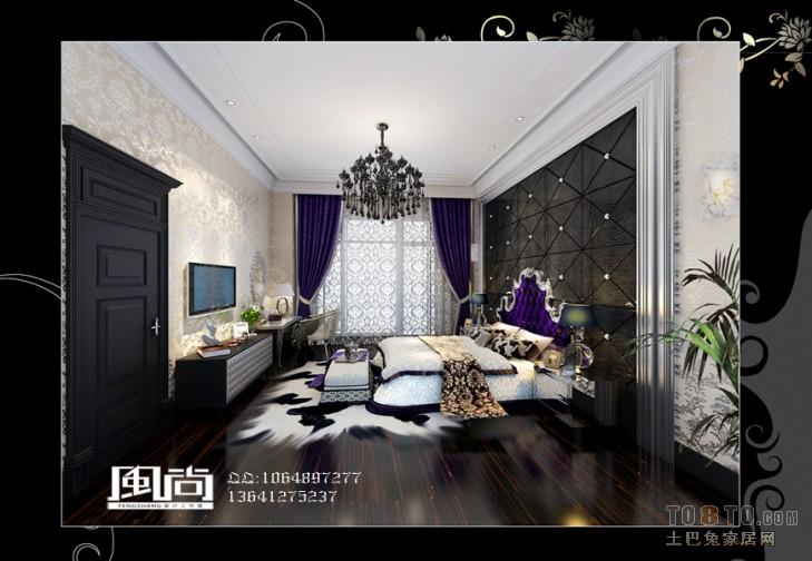 低调奢华现代餐厅室内装饰效果图