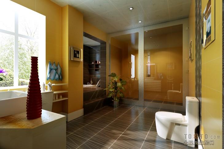 水墨山河-浴室-欧式风格