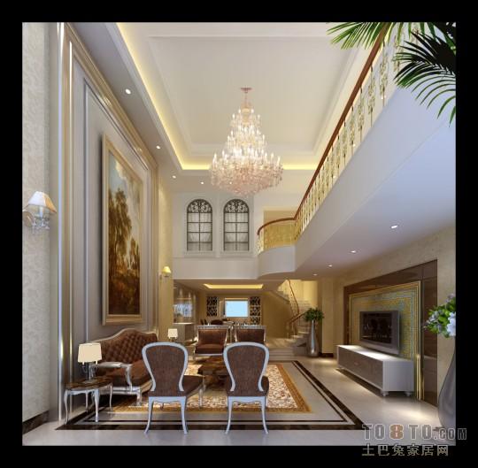 北欧挑高客厅设计