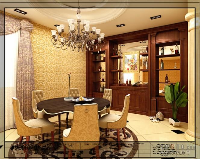 宜家风格餐厅装饰案例图片