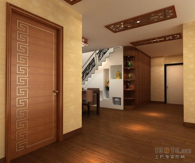 休闲时尚现代风格客厅装修效果图