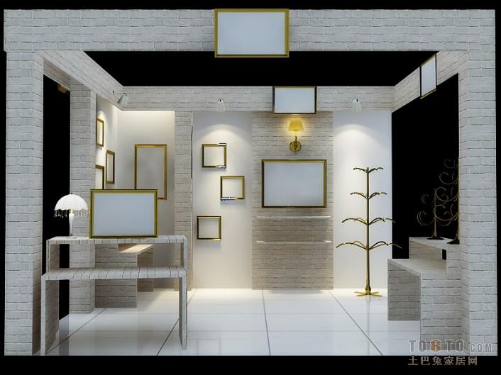 现代简约设计别墅开放式厨房图片