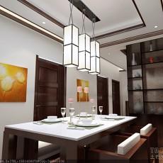 复古风别致时代餐厅设计图