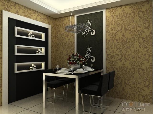 小户型现代风格餐厅装修样板间