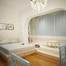 2018混搭小户型卧室装修图片