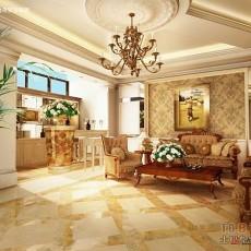 欧式住房装修客厅图片