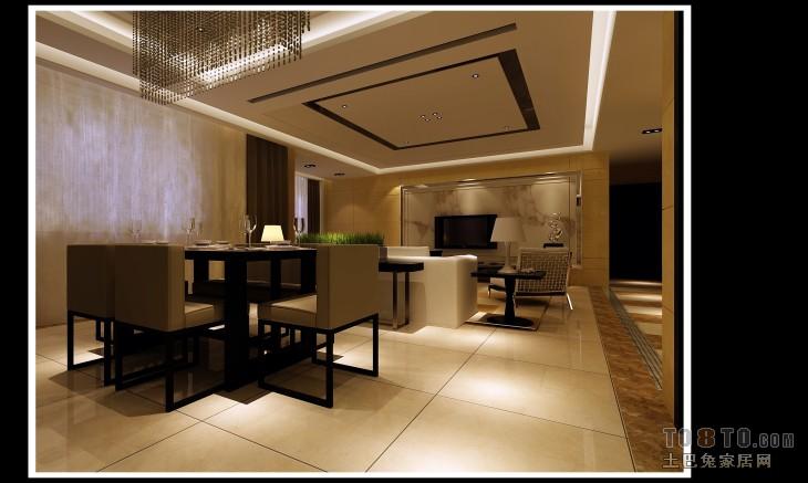 家居美式格调客厅装修图