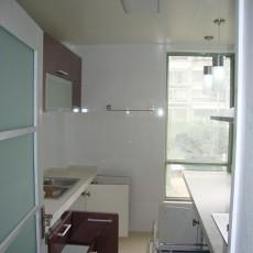 精美面积105平混搭三居厨房装修实景图片欣赏