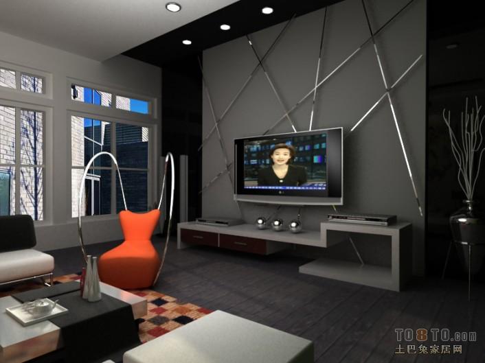精美面积111平复式客厅田园装修设计效果图片欣赏
