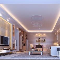 精选面积81平混搭二居客厅装修效果图