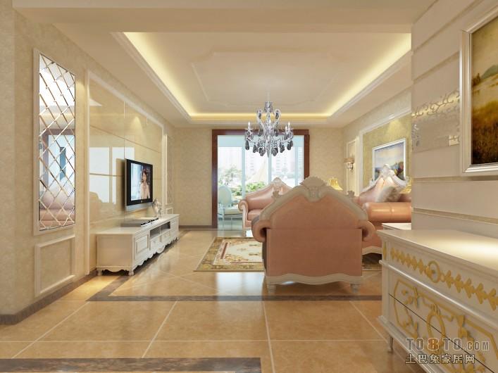 美式别墅设计室内楼梯图片