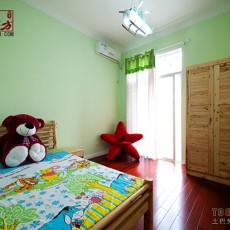 温馨双儿童房装修效果图大全2013图片
