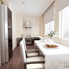 热门混搭复式厨房效果图片