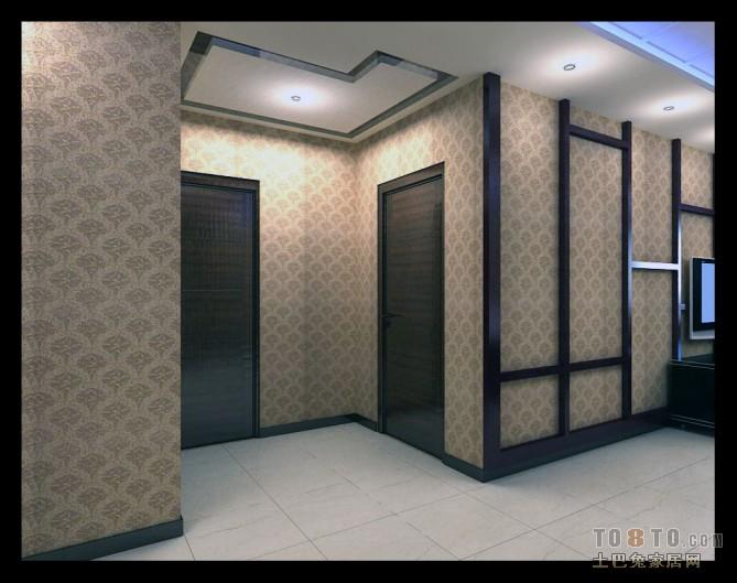 现代豪华风格设计卫生间室内装饰效果图