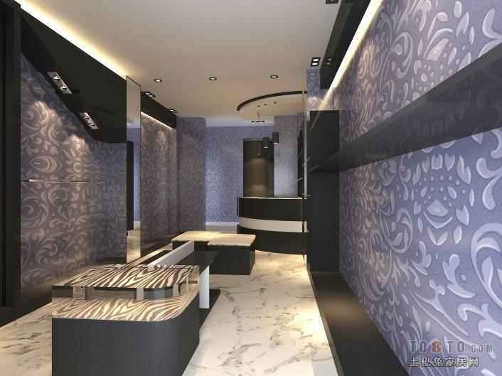 北欧风格石膏背景墙设计