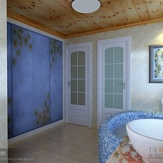 卫生间瓷砖效果图2013