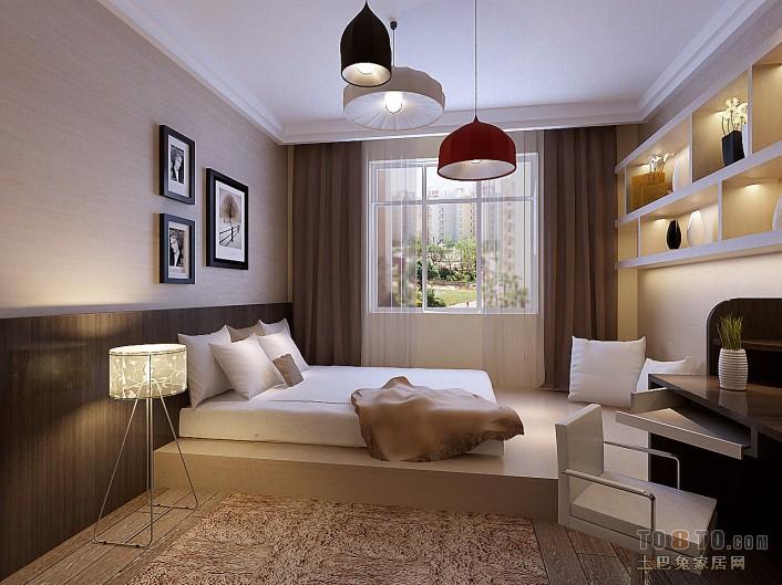 现代时尚卧室装修效果图片欣赏