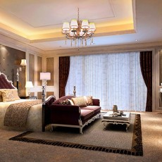 卧室壁纸装修效果图大全2013
