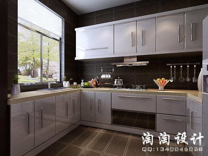 农村开放式厨房装修效果图