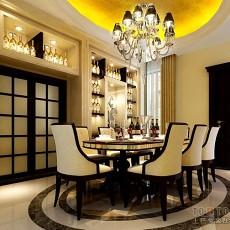 热门123平米欧式别墅餐厅装修图片欣赏