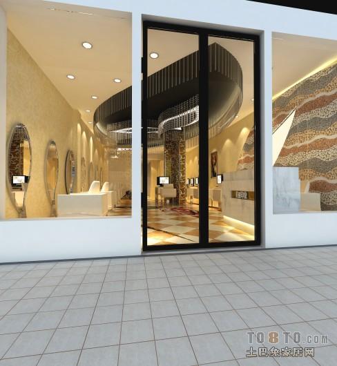 美式现代家居卫生间装修设计效果图片