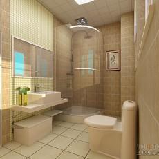 欧式卫生间浴室装修设计图