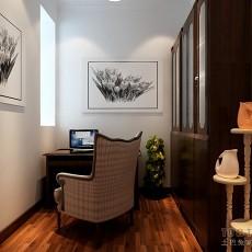 精美91平方三居书房欧式装修设计效果图片欣赏