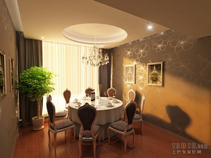 新中式风格设计卧室室内装饰效果图