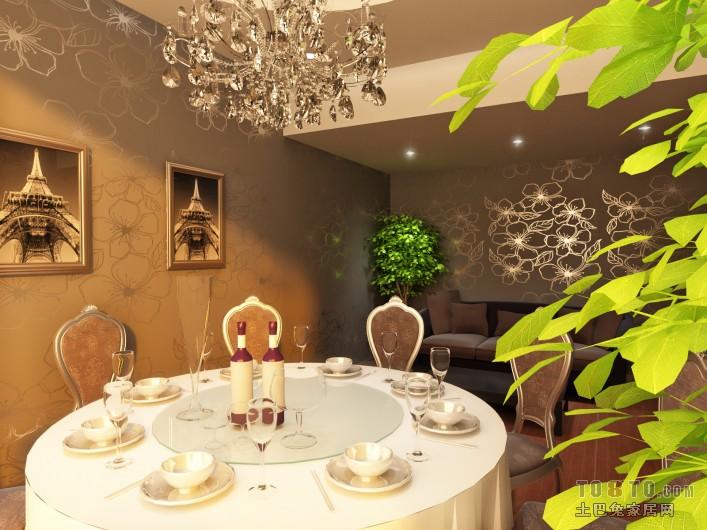 现代风格设计厨房室内装饰效果图