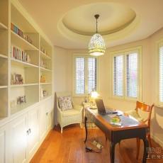 阳台改书房设计效果图片大全