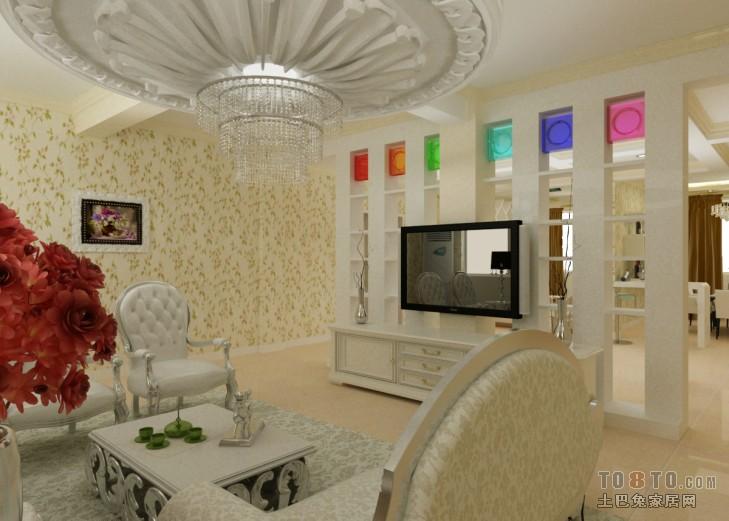 精选122平米现代别墅餐厅装修设计效果图