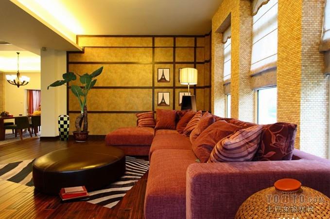 中式简约装修风格客厅设计