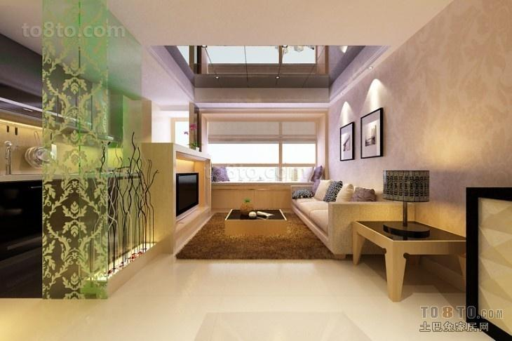 60平室内客厅装修效果图大全2012图片