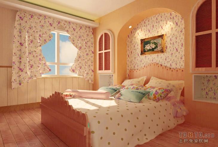 休闲雅致系列卧室装修效果图