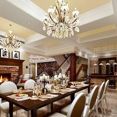 欧式餐厅装潢设计图