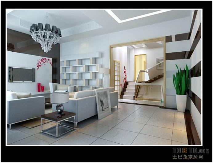 欧式新古典客厅装潢
