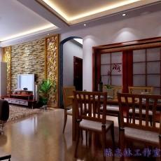 豪华东南亚风格书房装修