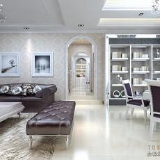 现代简约风格家居客厅装修效果图