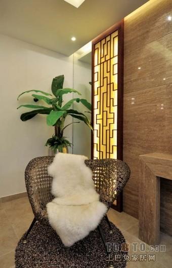 现代室内隔断设计装修图片