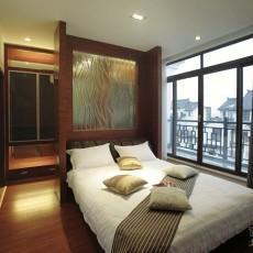 美式卧室实木床效果图片