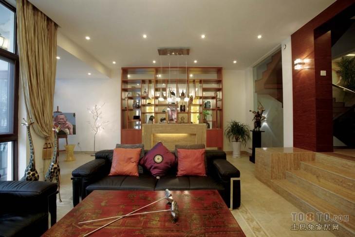 现代两居室设计装修效果图欣赏
