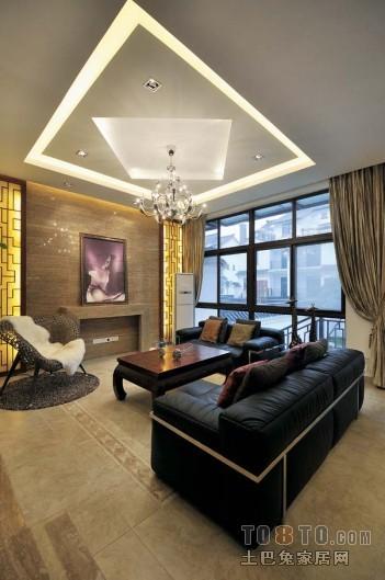 现代客厅设计装修效果图欣赏