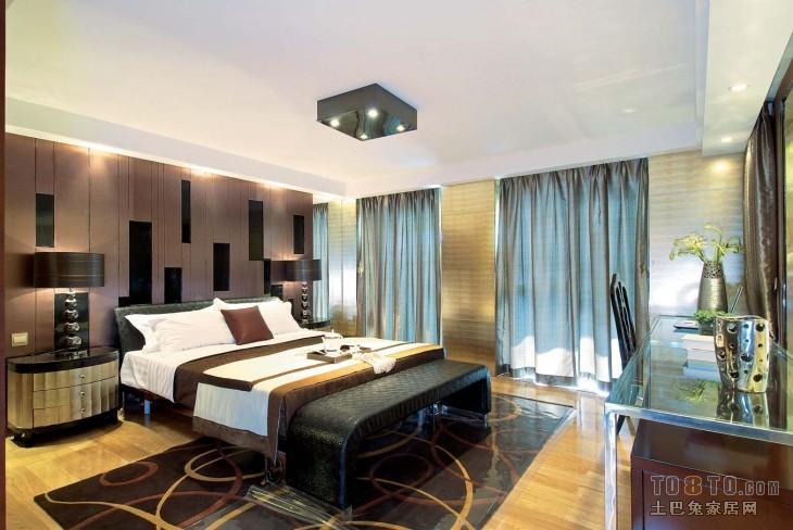 美式风格复式卧室图片大全