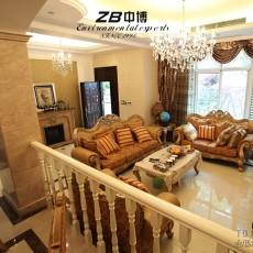 120平米欧式别墅客厅装修效果图片