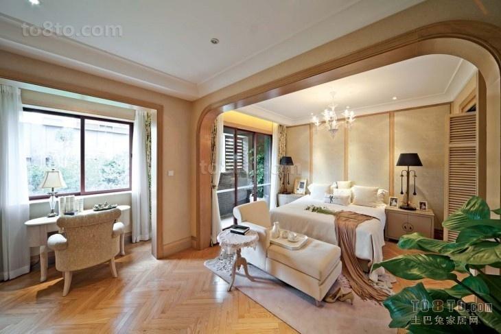 欧式卧室背景墙 欧式卧室床头背景墙
