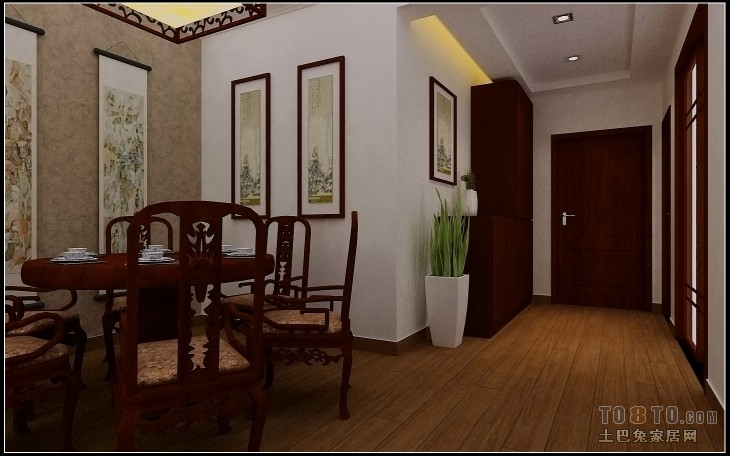 现代风家装客厅效果图装修