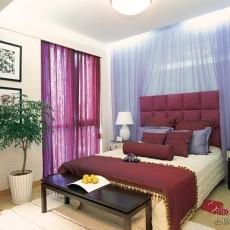 精选面积120平复式卧室美式装饰图片欣赏