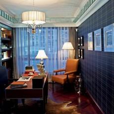 欧式古典书房吊顶装修效果图大全2013图片