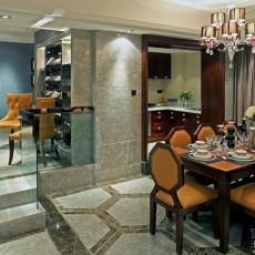别墅家装餐厅装饰设计效果图
